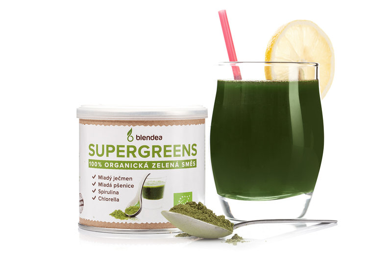 Blendea SUPERGREENS nápoj