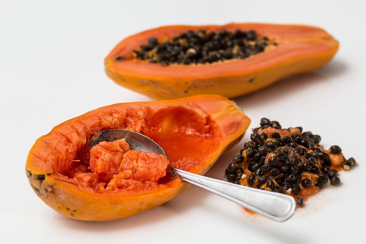 Veganská strava: Exotické ovoce Papaya