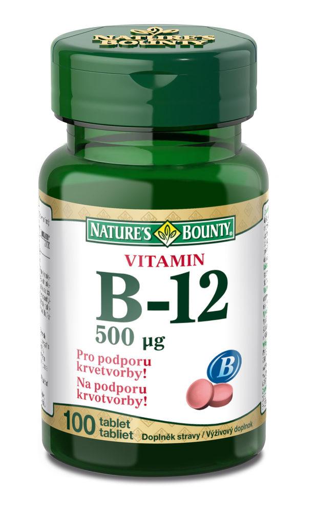 Vitamín B12 doplněk stravy