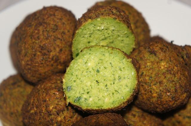 Veganský jídelníček: Falafel