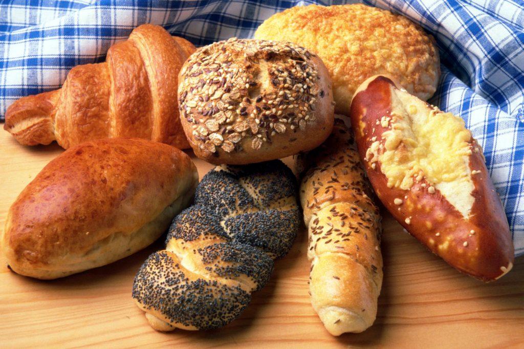 veganské pečivo, bagety, chleba