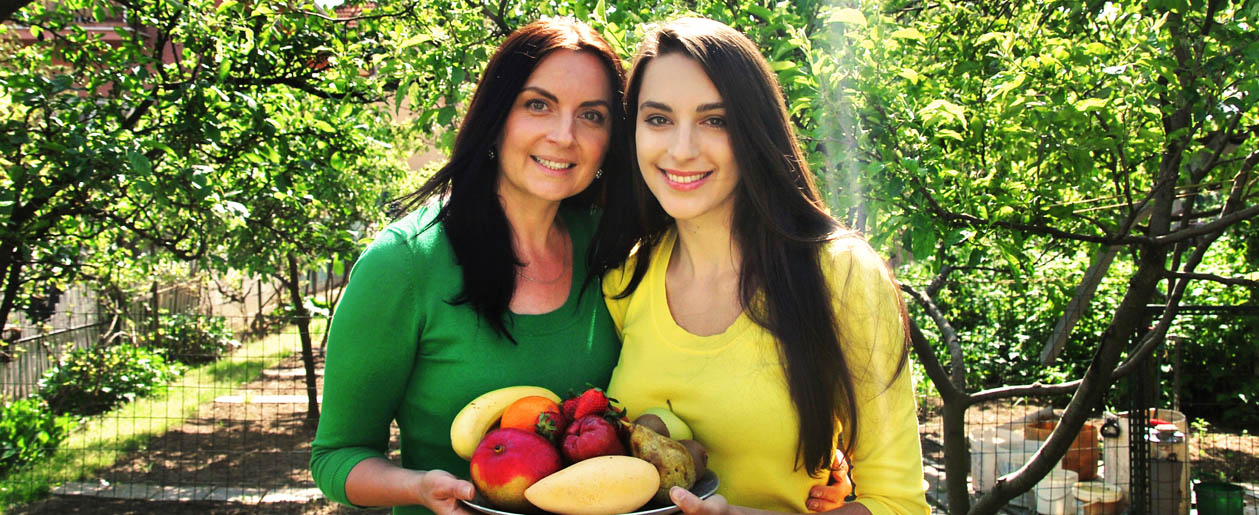 Nikoleta Kováčová a její matka Renata